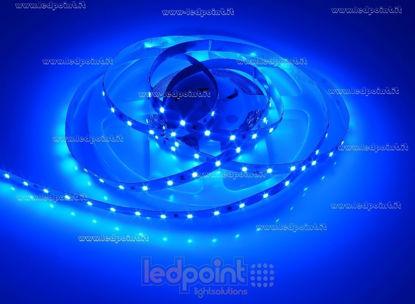 Foto de Tira de led 5m azul 2835 60led/m 24V 14,4W/m