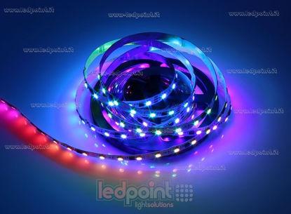 Foto de Tira de led 5m Controlador RGB 5050 60led/m 12V 13W/m