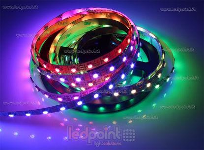 Foto de Tira de led 5m Controlador RGB 60led/m 5050 5V 13W/m
