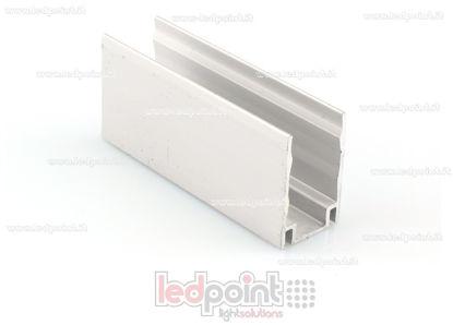 Foto de Clip de aluminio para fijar, 5cm, para Led Neon Flex 11mm