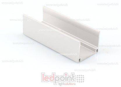 Foto de Clip de aluminio para fijar, 5cm, para Led Neon Flex 17mm