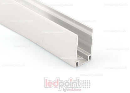 Foto de Barra de aluminio para fijar, 1m, para Led Neon Flex 11mm