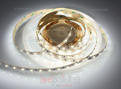 Foto de Tira de led 5m blanco 4000-4250K 2835 60led/m Honglitronic 12V 14,4W/m