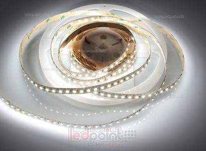Foto de Tira de led 5m blanco 4000-4250K 2835 120led/m Honglitronic 24V 24W/m