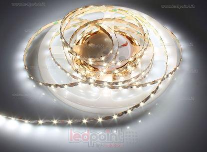Foto de Tira de led 5m blanco 4000-4250K 2835 60led/m Honglitronic 12V 8W/m, Zigzag PCB