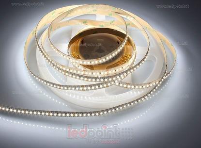 Foto de Tira de led 5m blanco 4000-4250K 3014 204led/m Honglitronic 24V 19,2W/m