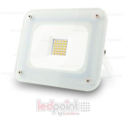 Foto de Reflector para esterior 3000K 20W 230V blanco