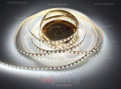 Foto de Tira de led 5m blanco 3800-4000K 2835 (PCB 3528) 120led/m Honglitronic 24V 9,6W/m