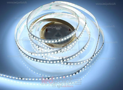 Foto de Tira led 5m blanco frío 5500-6000K 2835 160 led/m 24V 24W/m control de corriente