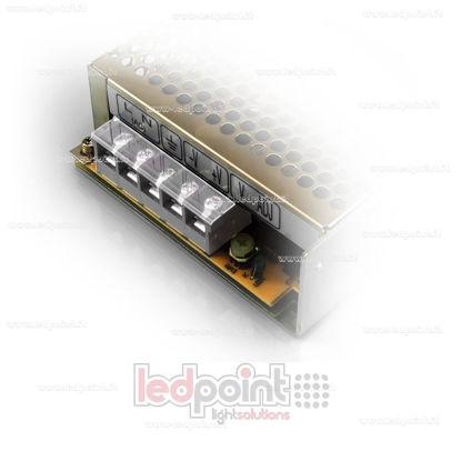 Foto de Cobertura de plástico para terminal de conexión para fuentes de alimentación Mean Well LRS-35, LRS-50 y LRS-75