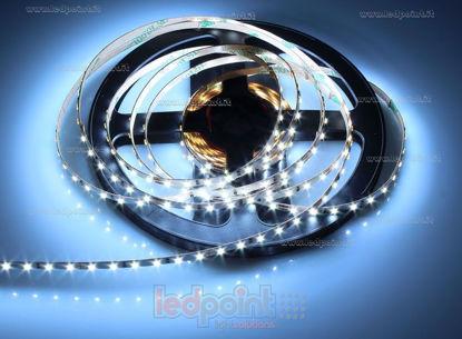 Foto de Tira de led 3m blanco frío 6000-6480K 2216 CRI Ra>90 120led/m 24V 9,6W/m, PCB 4mm