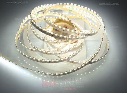 Foto de Tira de led de ángulo ajustable blanco 2800-2900K 120 led/m Honglitronic 24V 14,4W/m