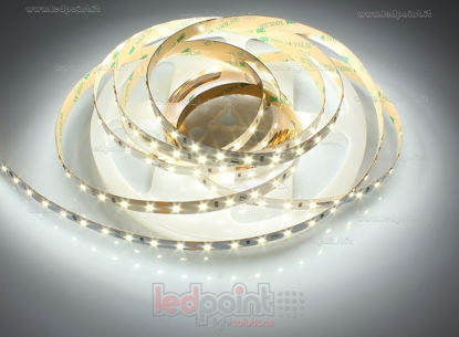Foto de Tira de led 5m blanco 4000K 3step 2835 70led/m Honglitronic 24V 14,4W/m Made in Italy