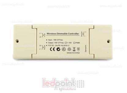 Foto de Controlador 0-10V (100-277V AC) con antena interior IP20 para tecnoloía ZigBee
