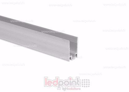 Foto de Barra de aluminio para fijar, 1m, para Led Neon Flex 8mm