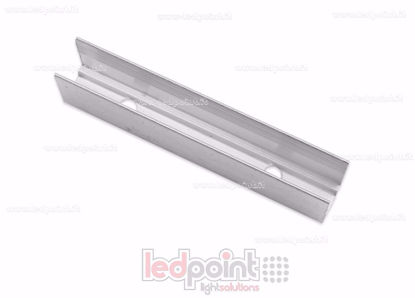 Foto de Clip de aluminio para fijar, 5cm, para Led Neon Flex 6mm