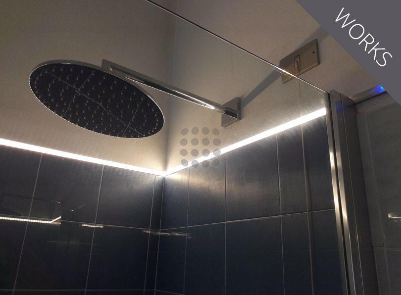 Iluminación ducha
